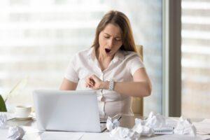 به هنگام بی حوصلگی در محل کار بر روی دکمه ESC ضربه بزنید.